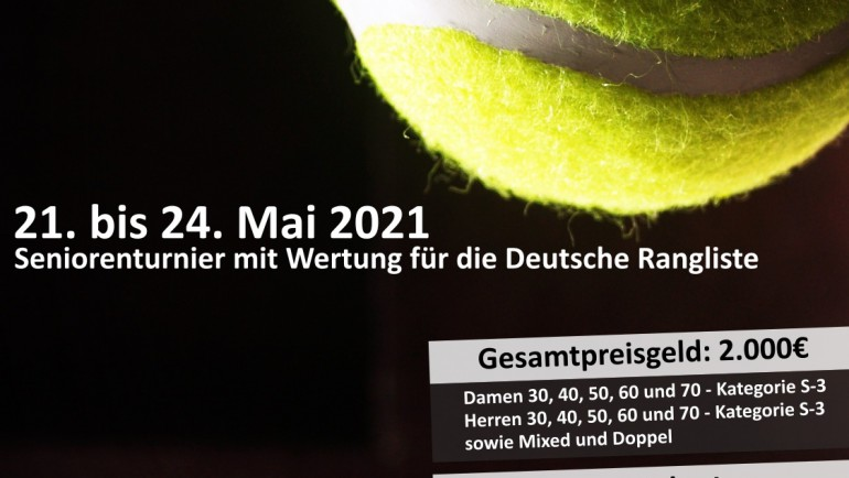 Senior Cup Neu-Ulm sponsored by allgaier vom 21. bis 24. Mai 2021
